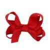Hand- made alligator clip with mini red bow