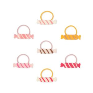 Hair Ties with amazing candy shape