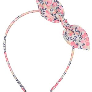 Romantic headband with floral bow