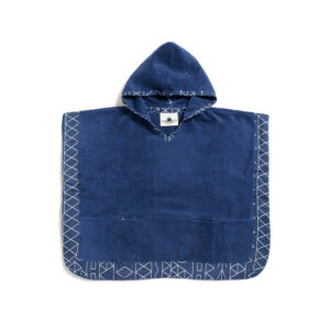 Tinos Kids Poncho with hood of 100% cotton