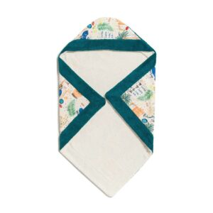 Your Summer Destiny baby towel with hood of 100% cotton