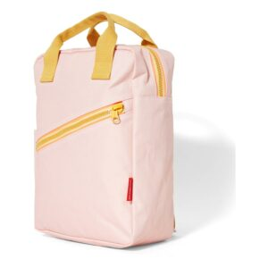 Recycled Plastic Backpack large 'Zipper New Pink'